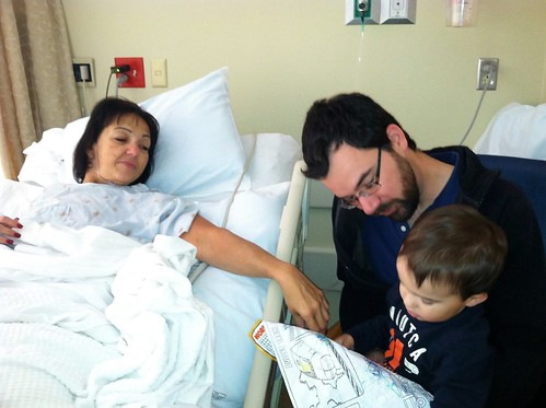 Mom's Kidney Surgery 2013
