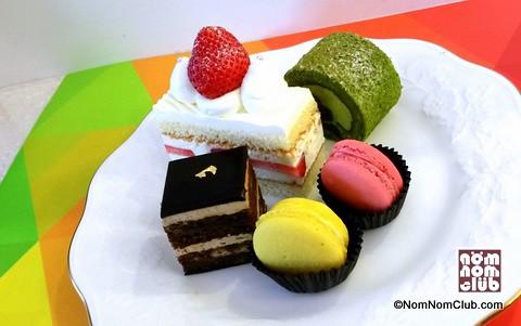 Desserts Sampler Strawberry Shortcake