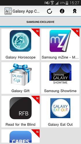 Samsung Galaxy App Center ดาวน์โหลด App สำหรับลูกค้า Samsung Galaxy เพื่อพบสิทธิพิเศษที่นี่