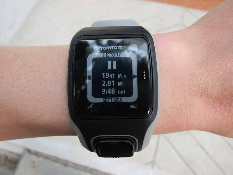TomTom Multi-Sport GPS Watch - Running - Paused