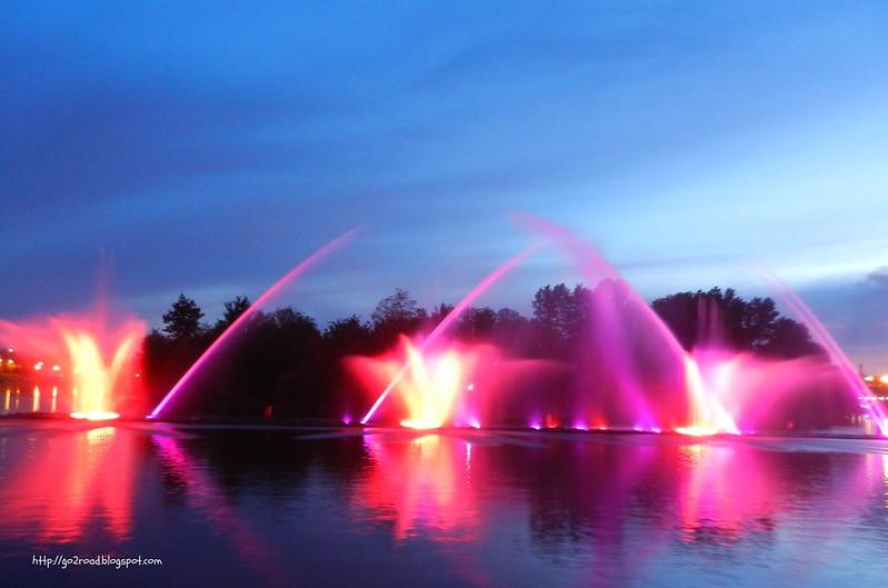 Представление фонтанов в Виннице