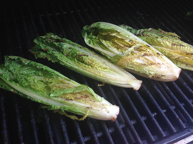 Grilled Caesar salad on twothirtyate.com