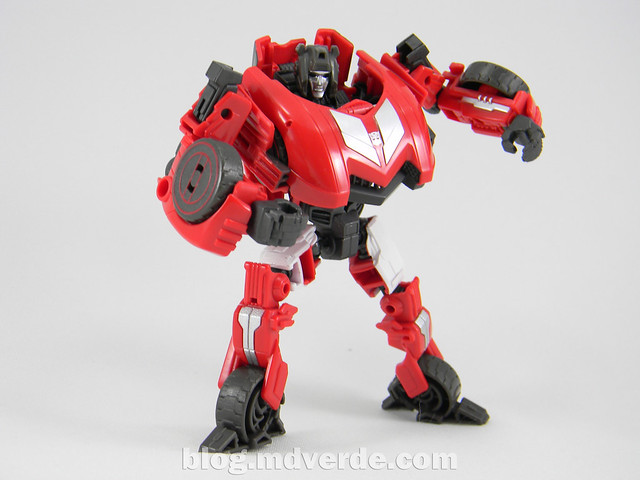 Transformers Sideswipe Deluxe - Generations Fall of Cybertron Edition - modo robot