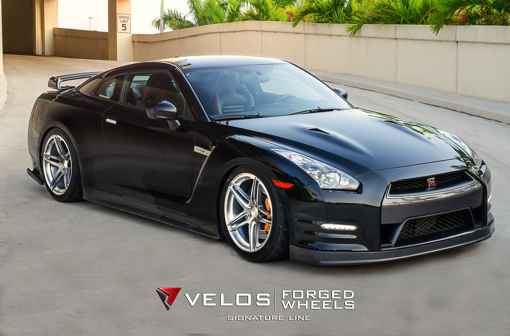 Phoenix Nissan A few Nissan GTR's on Velos S1 Forged Wheels | 20x12 ...