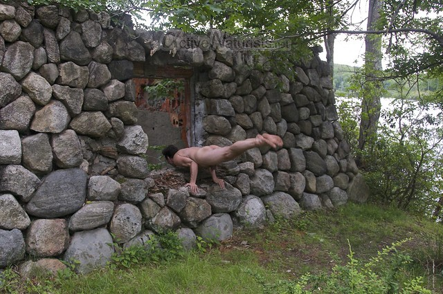 naturist 0075 Harriman State Park, New York, USA