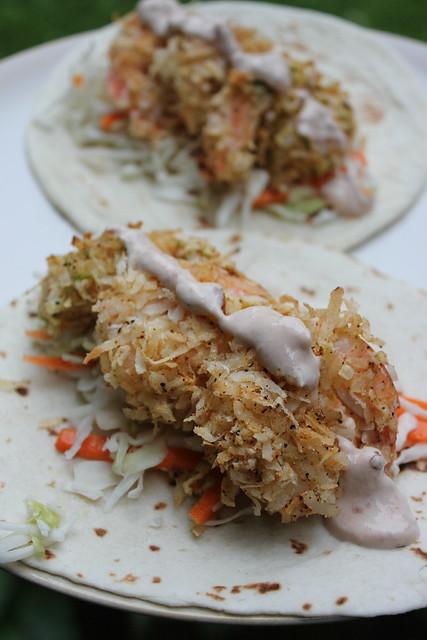 (20 Minute) Bang Bang Shrimp Tacos