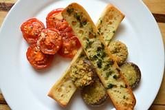 Garlic Bread Strips, Stuffed Garlic Mushroom, Garl…
