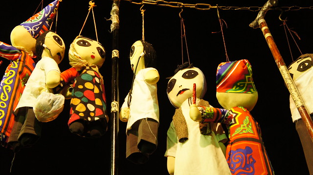 Egyptian Puppets at Cairo's Khan El-Khalili
