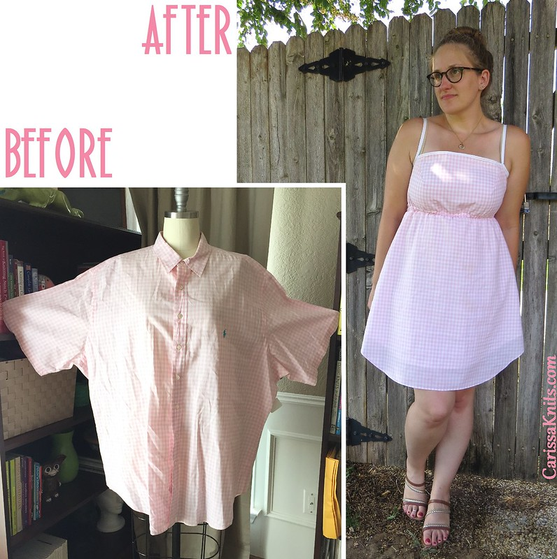 Gingham Sundress - Before & After