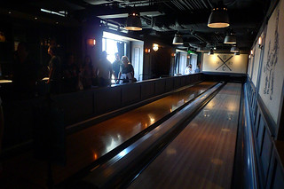 AT&T Park Tour - Bowling Room
