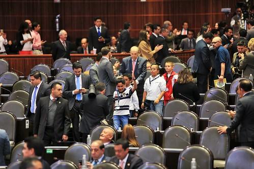 El martes 14 de febrero tuvo lugar la Sesión Ordinaria de la Cámara de Diputados en la que también se presentaron los miembros del Parlamento Infantil.