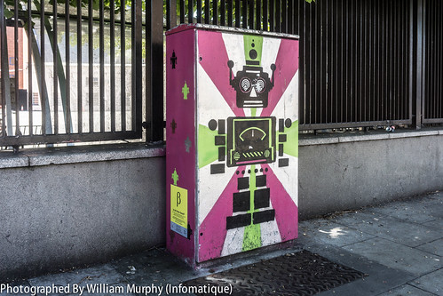 Dublin Street Art - Bolton Street by infomatique