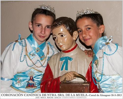 CORONACIÓN CANÓNICA DE NTRA. SRA. DE LA MUELA = CORRAL DE ALMAGUER 18-5-2013