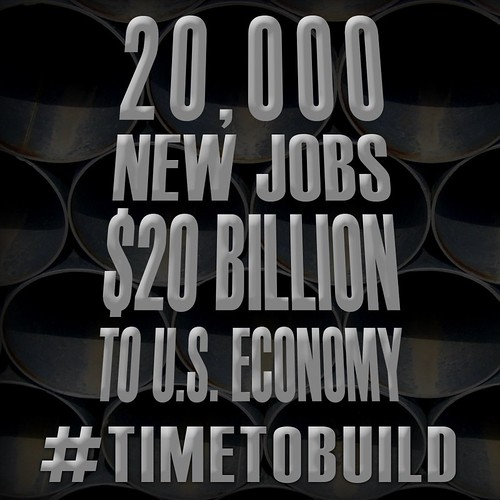 #TimeToBuild The Keystone XL Pipeline