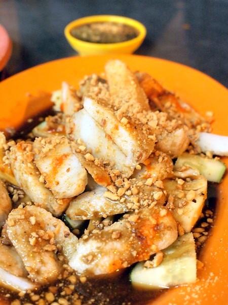 Hock Chin, Melaka - siham, cockles, sotong kangkung -011