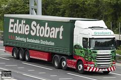 Scania R440 6x2 - PK11 JVX - Violet Josephine - Eddie Stobart - M1 J10 Luton - Steven Gray - IMG_0561
