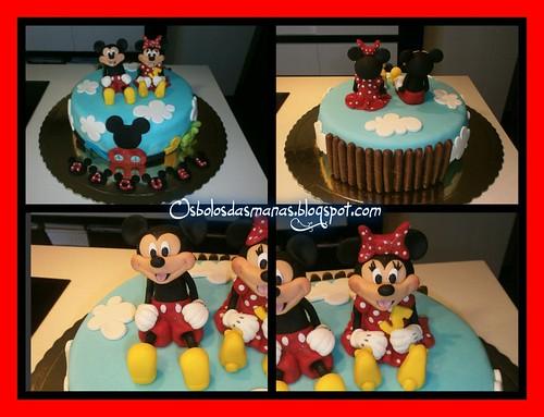 Detalhes bolo Casa do Mickey II by Osbolosdasmanas
