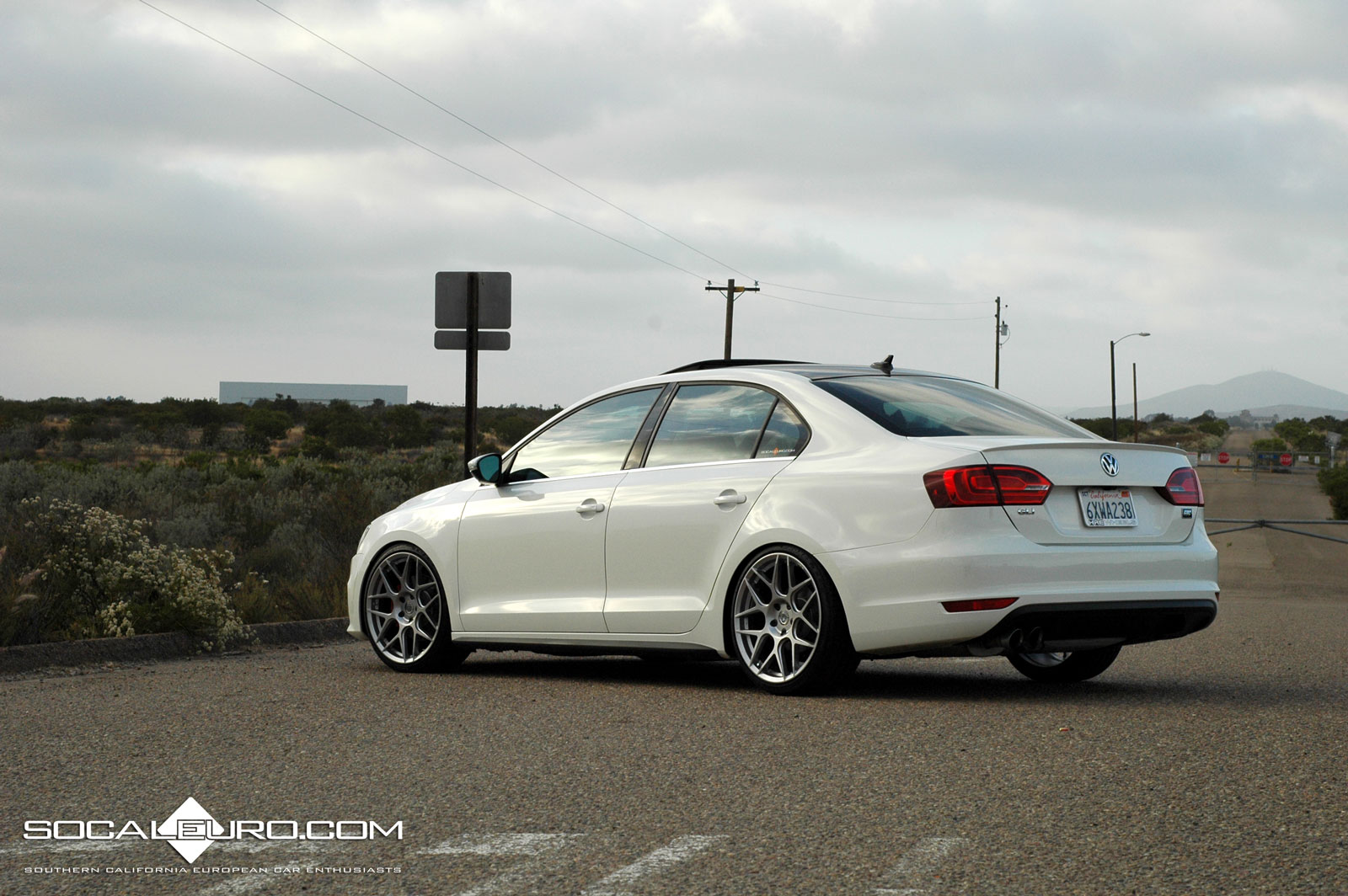 VWVortex.com - MK6 GLI with HRE FF01