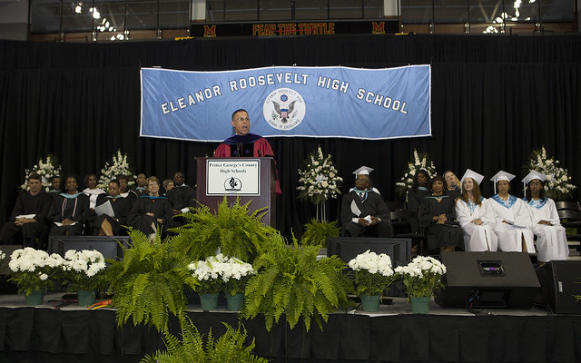 Commencement Address at Eleanor Roosevelt High School ...