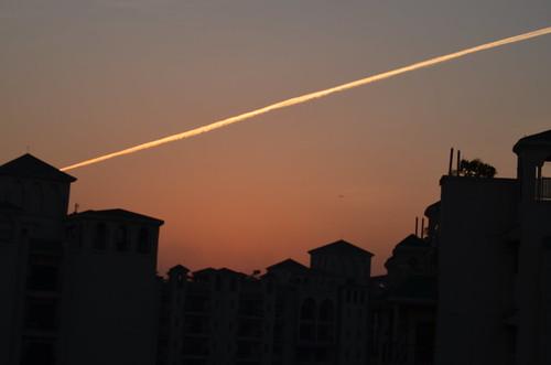 sunset jet