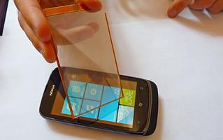 自动充电新技术:太阳能屏幕