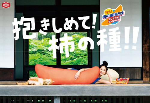 亀田製菓 柿の種抱き枕プレゼント!キャンペーン