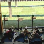 Shooting 50m prone rifle