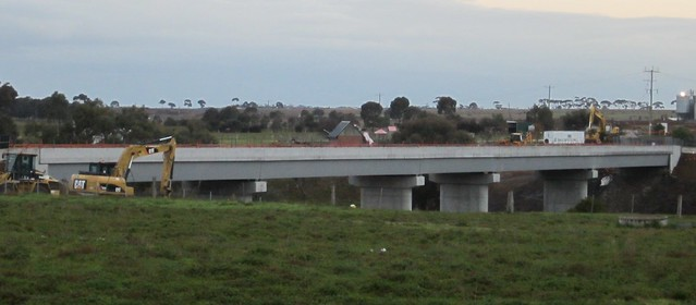 Regional Rail Link: Bridge over Werribee River, July 2013