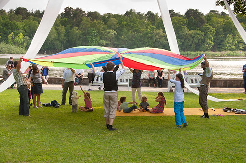 Sommerfest2013 Zirkus, Foto: Michael Glossner