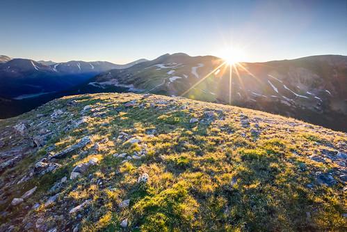 morning summer sun mountains sunrise colorado unitedstates dillon sunburst tundra lovelandpass continentaldivide arapahonationalforest