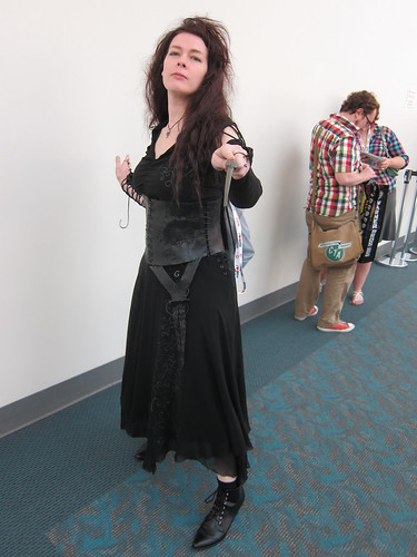 SDCC 2013 - Cosplay  - Bellatrix Lestrange - Thursday