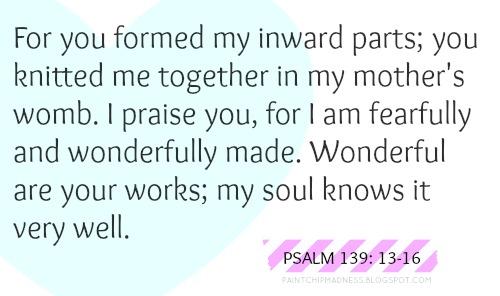 psalm139 13-16