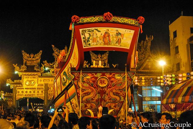 Burning Boat Festival Taiwan Boat Back