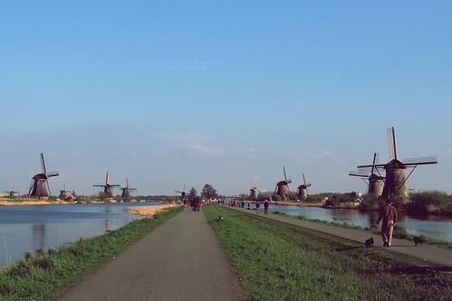 Kinderdijk, South Holland, the Netherlands