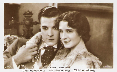 Ramon Novarro and Norma Shearer in The Student Prince in Old Heidelberg (1927)