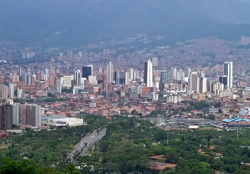 Medellín 7 de Agosto desde El Cerro El Volador