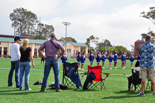 UCSB cheerleader competition
