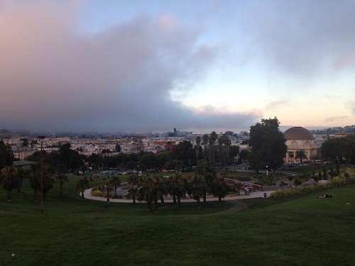 Fogust at Dolores Park