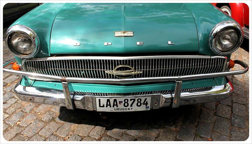 uruguay vintage opel