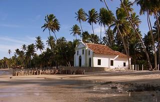 Brasil - Pernambuco - Tamandaré - Praia dos Carneiros - Capela