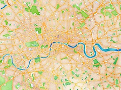 Picture of Maps Of London