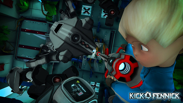 Kick & Fennick on PS Vita