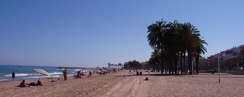 Beach Villajoiosa by Ginas Pics