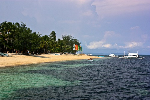 Bounty beach on Malapascua
