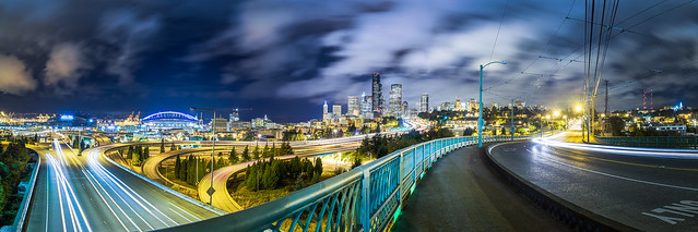 12th Street Bridge Panorama