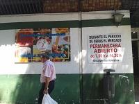 Los comerciantes del mercado de Las Palmeritas ven deficiencias en su rehabilitación