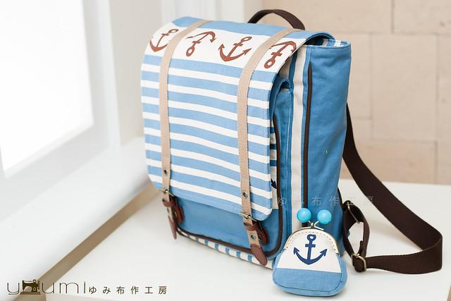 海軍風背包