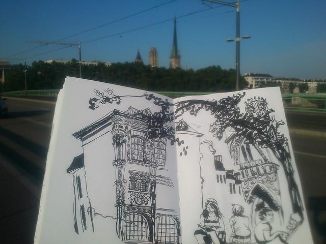 Normandy Holidays Homework #3 - Rouen a changé depuis le passage de Monet...