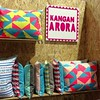 Still a sucker for @kanganarora's gorgeous Indian-inspired textiles @_designjunction #LDF13