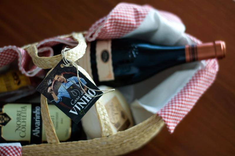 Vinhos, queijo e enchidos portugueses